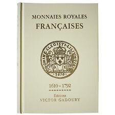 [#1203] Livre, Monnaies, France, Gadoury Royales, 2012, Safe:1839/12