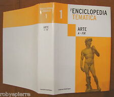 Enciclopedia tematica Grandi Opere l'espresso 2005 arte volume primo I 1° A-FIR