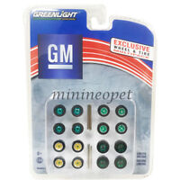 GREENLIGHT 13167 WHEELS and TIRES PACK SET 1/64 GENERAL MOTORS GM Chase