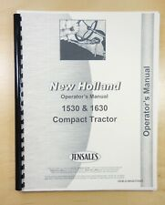 New Holland 1530 & 1630 Compact Tractor Operator's Manual OEM-O-NH42153021