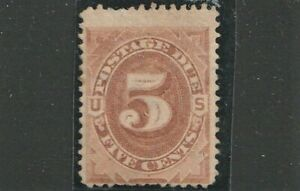 sc# J4  5c, brown. Postage Due. Mint.
