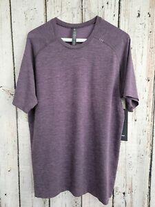 WN Men's Medium Lululemon Metal Vent Tech Short Sleeve Shirt 2.0 T-Shirt Tee NEW