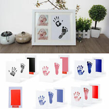 Safety Newborn Baby Handprint Footprint Pad Clean Non-Toxic Clean Touch Ink Pad