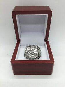 1985 Chicago Bears Walter Payton Championship Ring SILVER Set with Display Box