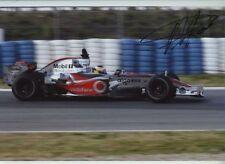 Pedro De La Rosa McLaren MP4-21 F1 Season 2006 Signed Photograph 2