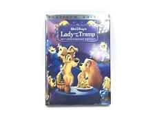 Walt Disney Lady And The Tramp 50th Anniversary Platinum Edition 2 Disc DVD