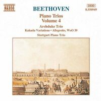 Ludwig Van Beethoven - Piano Trios - Volume 4 [CD]