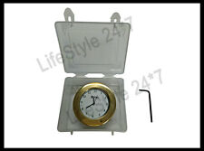 Royal Enfield Solid Brass Stem Nut Clock