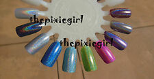 SPECTRAFLAIR HOLOGRAPHIC TOP COAT Nail Polish Lacquer in Base 5mL Mini Course
