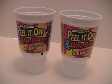 LOT /2 TACO BELL PEPSI FEATURING AUSTIN POWERS DRINKING CUPS FAST FOOD FROM 2002