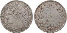 5 francs Cérès sans légende, Gouvernement Défense Nationale, 1870 Bordeaux - 92