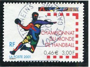 TIMBRE FRANCE OBLITERE N° 3367 SPORT HANDBALL  / Photo non contractuelle