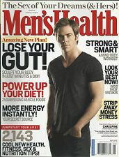 Mens Health magazine Chris Pine Mind body workout Muscle foods Nutrition Energy