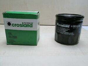 CROSLAND Ref L10244US SPIN ON OIL FILTER