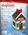 """Santa's House Tissue Box Cover"" Uniek Quick Count Plastic Canvas Needlepoint"
