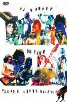 "PJ HARVEY ""ON TOUR-PLEASE LEAVE QUIETLY"" DVD NEU"