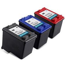 3pk Printronic For HP 56 57 58 C6656AN C6657AN C6658AN