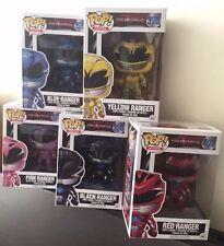 In-Hand New Funko POP! Movies  Power Rangers set of 5 Vinyl Figures