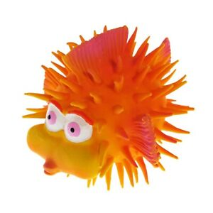 Natural rubber sensory bath toy Joop the Fish  by Lanco, w/squeaker, Pack of 5