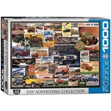 EG60000758 - Eurographics Puzzle 1000 Piece Jigsaw - Jeep Vintage Ads