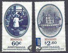 Australia 2013 FIRST BANKNOTE CENTENARY (2) very fine used SG 3989-90 (CV£7.50)