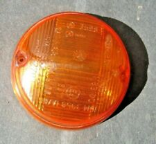 FIAT 124 COUPE 850 COUPE 1100R 1966-69  AMBER  FRONT TURN LENS  NEW OLD STOCK