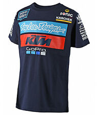 t-shirt bimbo Troy Lee Designs TLD Ktm Team Tee Youth Navy colore blu misura M
