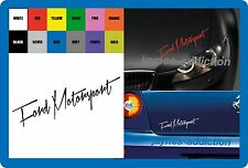 """""""Ford Motorsport' - Vinile Adesivo Decalcomania Auto 200 x 55mm"""
