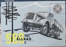 * Steyr 586 z Allrad Prospekt 1961 * *