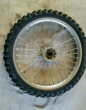 Yamaha wr 250 f front wheel rim and tyre