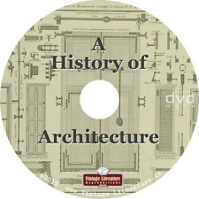 History of Architecture {Vintage House Church Store Industrial Plans} on DVD