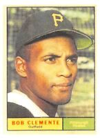 "1961  ROBERTO CLEMENTE - Topps ""REPRINT"" Baseball Card #388 - PITTSBURGH PIRATES"