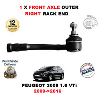 FOR PEUGEOT 3008 1.6 VTi 2009->2016 1 X FRONT AXLE OUTER RIGHT TIE ROD END