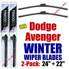 WINTER Wipers 2-Pack Premium Grade - fit 1995-2014 Dodge Avenger 35240/220