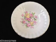 "Edwin Knowles China KNO246 246 46 Floral Gold Fluted - 5-1/2"" FRUIT / SAUCE BOWL"