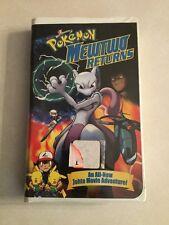 Pokemon: Mewtwo Returns (VHS, 2001, Clamshell Packaging)