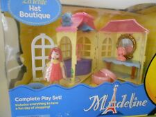 La Petite Madeline Doll Hat Boutique Playset Shop Stands Box Vanity Mirror New