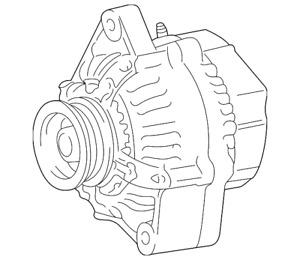 Genuine Toyota Alternator 27060-21031-84