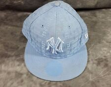 MLB New York Yankees 59Fifty New Era Fitted 7 3/8 Light Blue