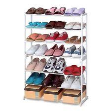 New Amazing 21 Pair Shoe Rack Stand Organiser Portable Light  Easy 2 Assemble
