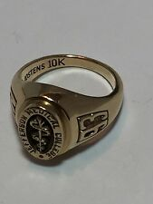 JOSTENS 10K Solid Yellow Gold Jefferson Medical College Class Ring Size 2.5 5.2g