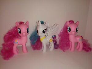 Princess Celestia And 2 Pinkie Pie 6 In.  Figures My Little Pony