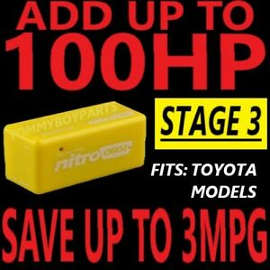 TOYOTA Performance Race Chip Tuner Power Speed Box MEGA BOOST MOD