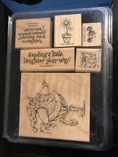 ~NEW~Stampin Up JEST BETWEEN FRIENDS Joker Jester Rubber Stamps SET OF 6