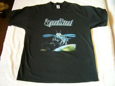 AGENT STEEL – rare old MAD LOCUST RISING T-Shirt!!! speed metal