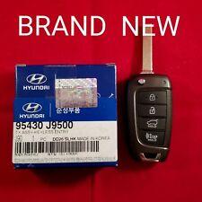 NEW OEM 2018 Hyundai Kona Remote Flip Key 4B Hatch - OSLOKA-450T (OS)