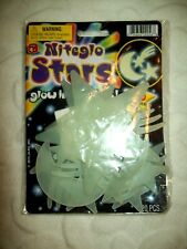 Glow In The Dark Ceiling Stars And Moon Shooting Stars With Adhesive Dots 20 PC