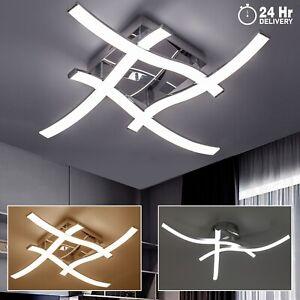 LED Ceiling Lights Fitting Modern Kitchen Living Room Bedroom Pendant 3 4 Light