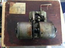Vintage  Victor Victrola Talking Machine 2 Barrel MotorsAnd Turn TablePart  5378