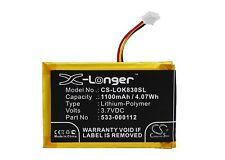 3.7V battery for Logitech IIIuminated Living-Room K830 Keyboard K830 Li-Polymer